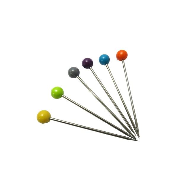 Achat en ligne Set de 6 pics à bigorneaux en inox couleurs assorties