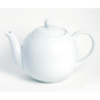 Théière en porcelaine blanche Moderna 1,5L