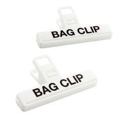 acquista online Set di 2 pinze per sacchetti di medie dimensioni