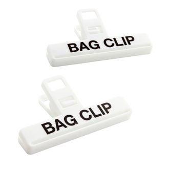 Set di 2 pinze per sacchetti di medie dimensioni