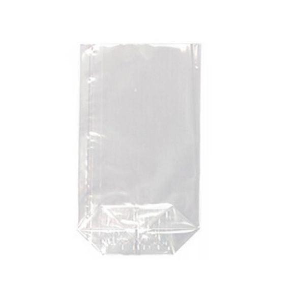 Set 10 sachets confiserie transparent plastique 27x18,5x7cm