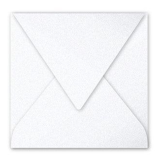 CLAIREFONTAINE - Paquet de 20 enveloppes blanc 120g 165x165mm
