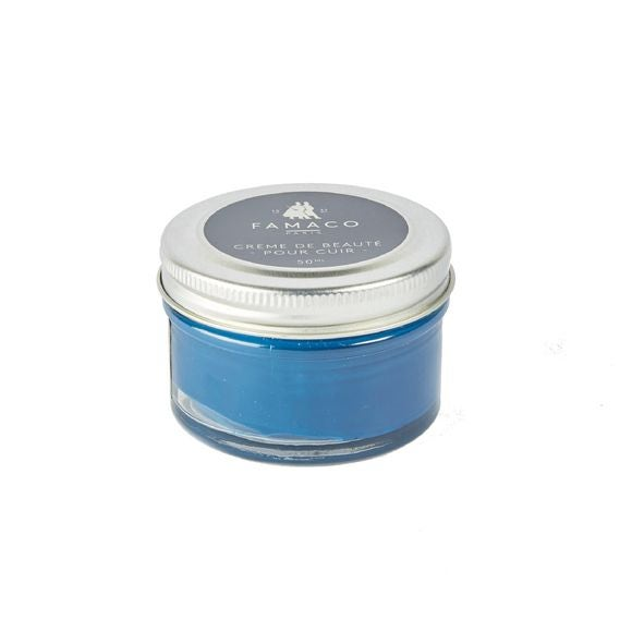 Crème beauté pour cuir bleu foncé 50ml