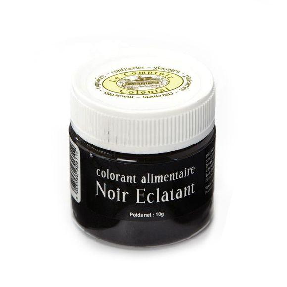 Achat en ligne Colorant alimentaire en poudre hydrosoluble noir en pot 10g