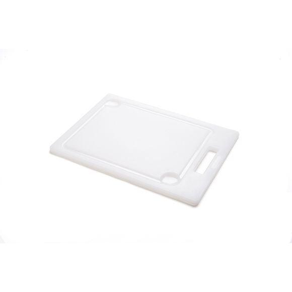 compra en línea Tabla de cortar con surco de goteo de polietileno (44 x 30 cm)