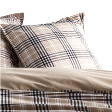 Achat en ligne Taie d'oreiller rectangle clan tisse chambray 50x70cm