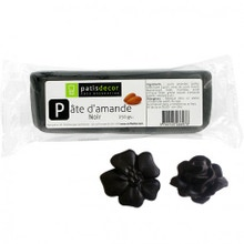 Achat en ligne Pâte d'amande noir 250g