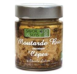 Achat en ligne Moutarde aux cèpes biologique 130g