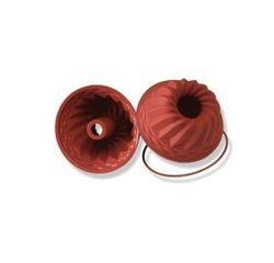 acquista online SILIKOMART- stampo kouglof antiaderente in silicone rosso 22x10cm