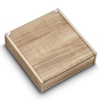 Coffret à couverts petit modèle en bois