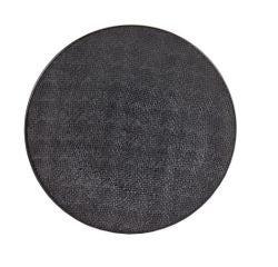Achat en ligne Assiette plate Vezuvio noire 26cm