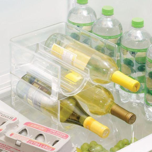 Porta 2 bottiglie impilabili