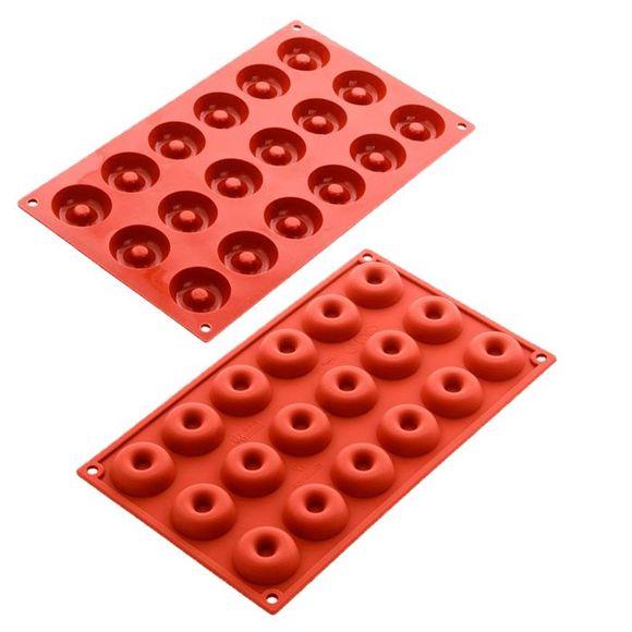 Stampo per 18 mini savarin Siliconflex
