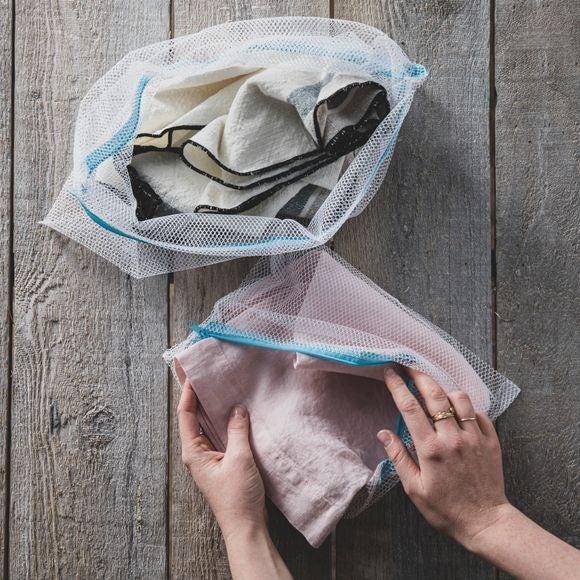Sacchetti in rete per lavaggio delicati, 2 pz.