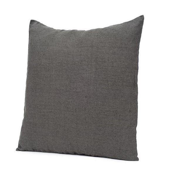 Achat en ligne Coussin carré en lin granit carré 45X45cm