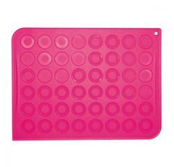 Achat en ligne Plaque à 24 macarons en silicone 37x13,5cm
