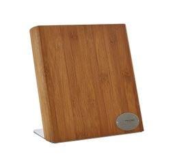 compra en línea Bloque de cuchillos magnético de bambú Meteor