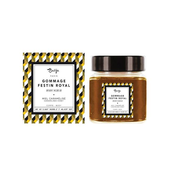 Gommage pour le corps au miel caramelise 212ml