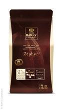 Achat en ligne Chocolat de couverture blanc en pistoles Zephyr 1kg