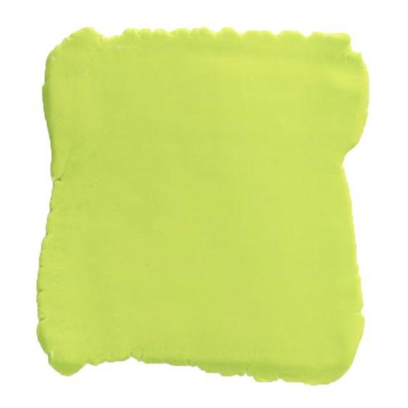 Achat en ligne Pâte à sucre vert citron aromatisée vanille 250g