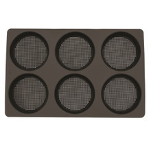 Achat en ligne Kit moule à 6 pains ronds ou tartelettes en silicone 37x23,5cm