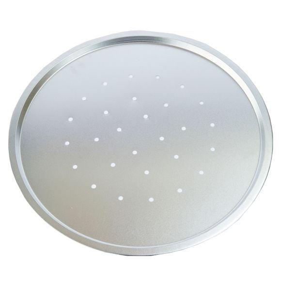 compra en línea Banjdea de pizza redonda perforada acero estañado (Ø34 cm)