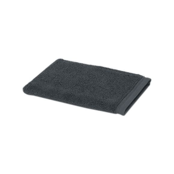 Guanto da bagno in spugna di cotone grigio
