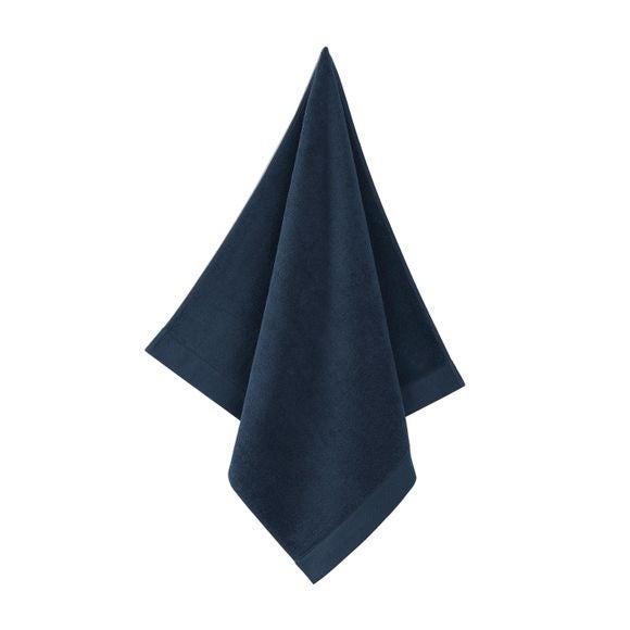 Serviette de douche 70x140cm en coton éponge encre