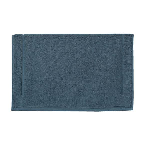 Achat en ligne Tapis de bain 60x60cm en coton éponge bleu