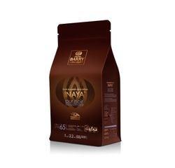 compra en línea Chocolate de cobertura negro en gotas Inaya Barry (1 Kg)