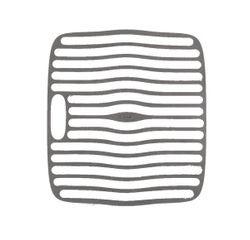 Achat en ligne Fond d'évier anti-dérapant plastique blanc et gris 32x28cm