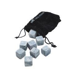 Achat en ligne 9 glaçons réutilisables en pierre avec sac de rangement