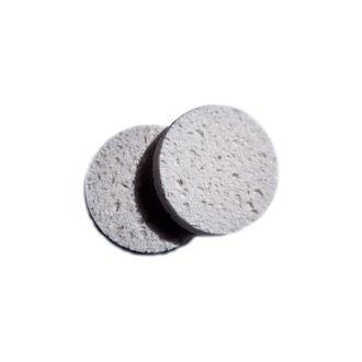 Set de 2 éponges démaquillante cellulose