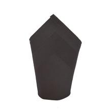 Achat en ligne Serviette avec bande satin zinc 45cm