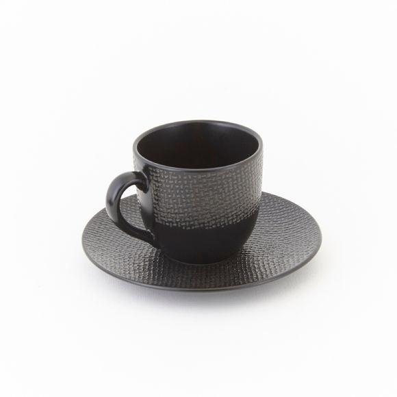Achat en ligne Petite tasse à café vesuvio noire 19cm