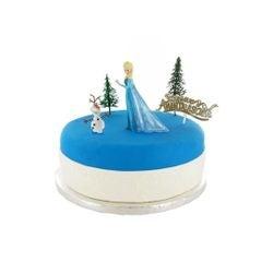 compra en línea Set de 4 piezas de decoración Disney Frozen plástico Patisdecor