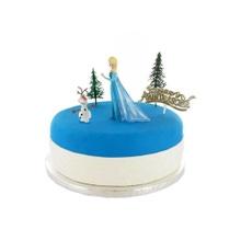 Achat en ligne Sujets décoratifs pour gâteau la reine des neiges
