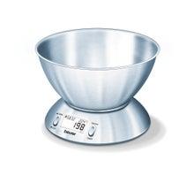 Achat en ligne Balance de cuisine électronique avec bol en inox 5kg