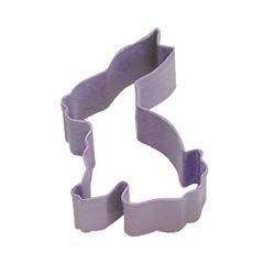 Achat en ligne Emporte-pièce lapin violet en métal revêtu 7,5cm