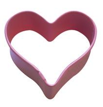 Achat en ligne Emporte-pièce mini cœur rose en métal revêtu 5cm