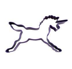 Achat en ligne Emporte-pièce licorne violette en métal revêtu 11,5cm