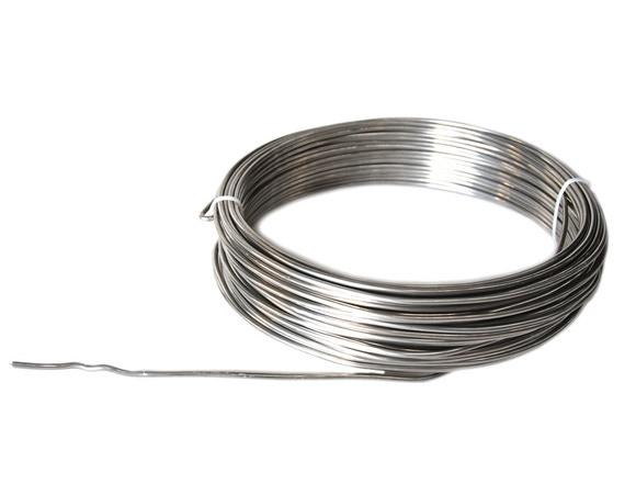 Achat en ligne Fil alluminium de fleuriste argent 2mmx12m