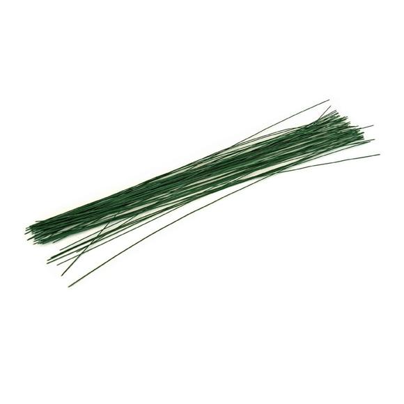 Achat en ligne Fil floral de fleuriste vert 0,8mmx30cm 100gr