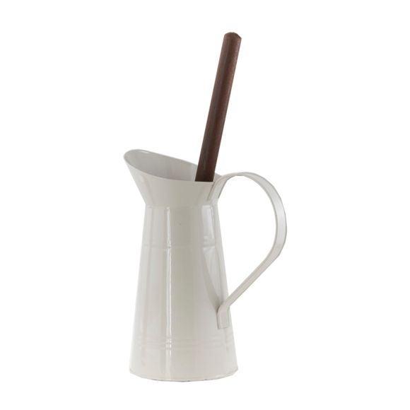 Achat en ligne Pot à balai pour wc broc ivoire
