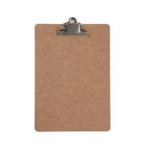 Achat en ligne Porte document en bois avec clip en métal 19x27cm