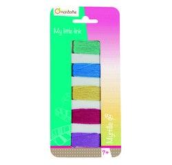 Achat en ligne Set de 5 fils bracelet brésiliens violet