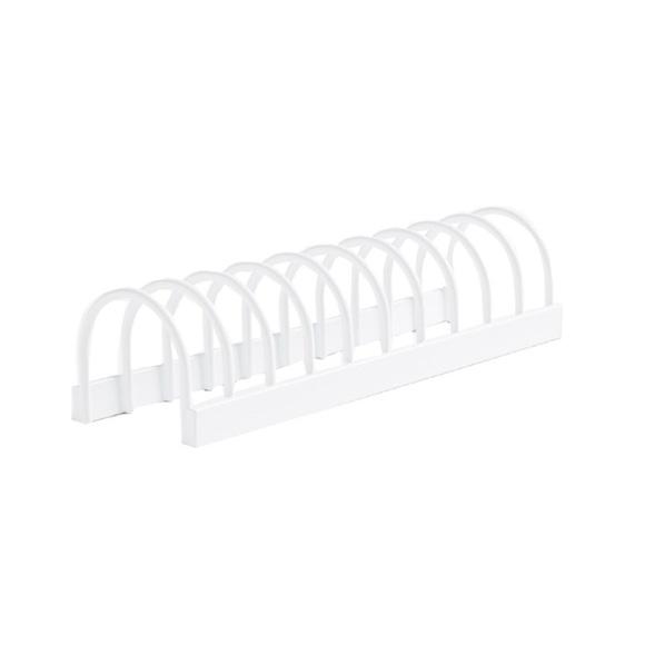 Achat en ligne Support tasses ou petits couvercles blanc 24,5x7x6cm