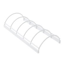 Achat en ligne Support pour couvercles et poêles blanc 30x14x6,7cm