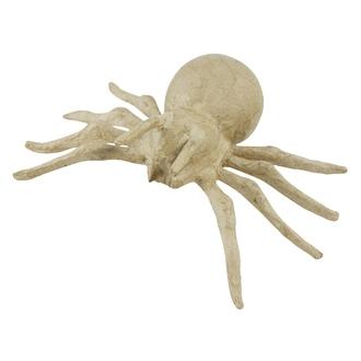 Araignée à décorer en papier mâché 19x10cm