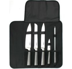 compra en línea Maletín de chef con 4 cuchillos y un afilador Deglon